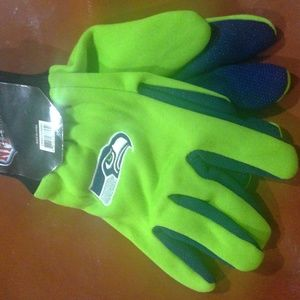 Other - NFL Seattle Seahawk gloves